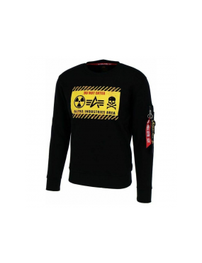 Mikina ALPHA INDUSTRIES Radioactive Sweater