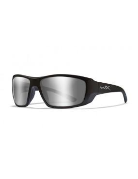 Okuliare Wiley X - KOBE Smoke Grey Silver Flash