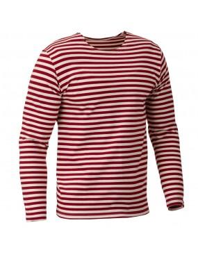 Ruské tričko dl.rukáv, červený prúžok