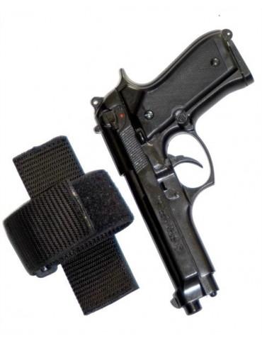 Úchytka na zbraň so suchým zipsom