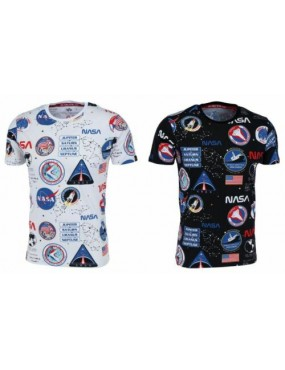 Tričko ALPHA INDUSTRIES NASA AOP