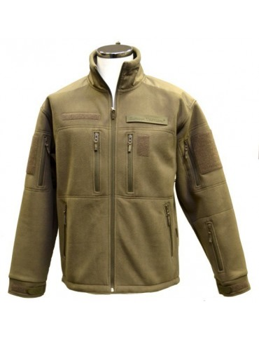 Bunda GURKHA tactical fleece, oliv