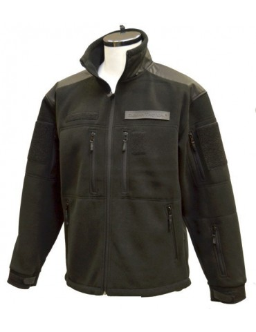 Bunda GURKHA tactical fleece, čierna