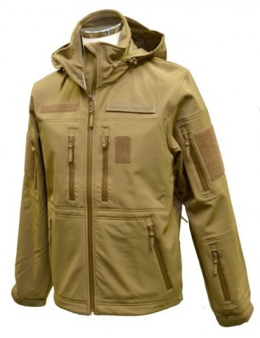 Bunda softshell GURKHA tactical, coyot