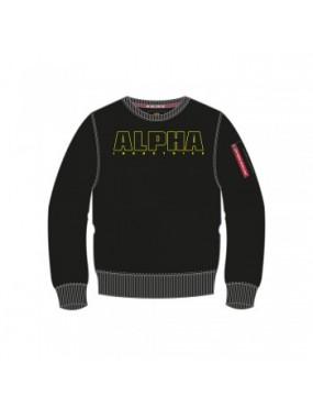 Mikina detská Alpha Embroidery Sweater