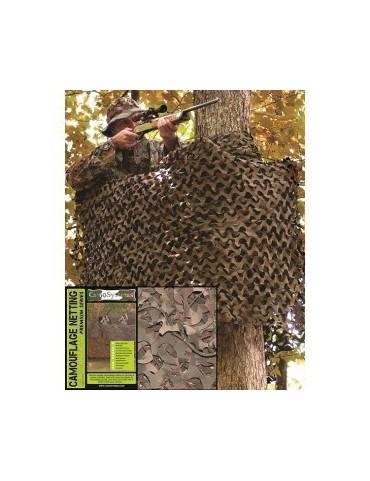 Sieť maskovacia military 6x3m, woodland