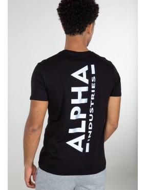 Tričko ALPHA backprint T Reflective Print