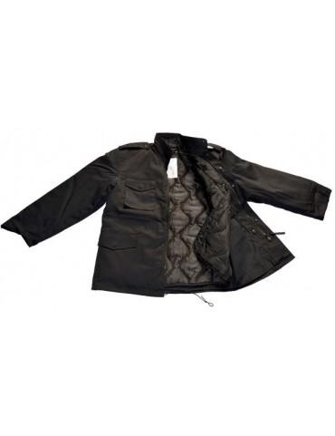 Kabát M-65, čierny