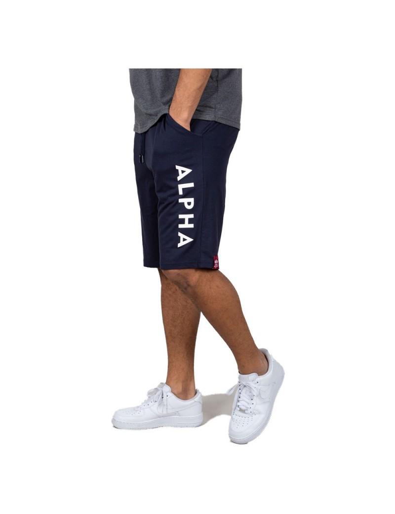 Nohavice kátke ALPHA Jersey Sort