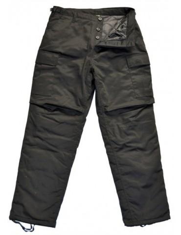 Nohavice zateplené BDU-RTX, čierne