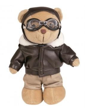 Medvedík plyšový PILOT - hračka