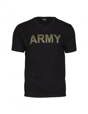 Tričko kr.rukáv s potlač. ARMY, black