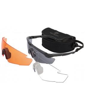 Okuliare REVISION SAWFLY R3 MaxWrap - sada Deluxe Vermillion