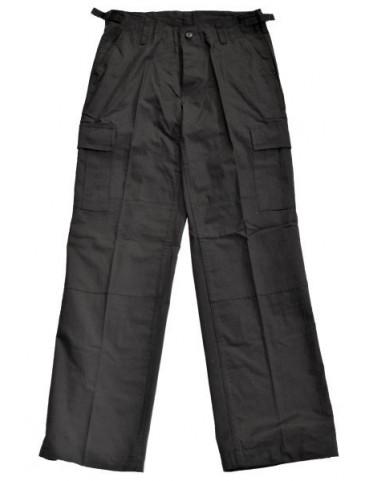 Nohavice dámske army, čierne