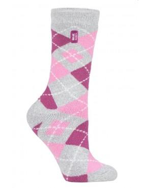 Ponožky zimné HEAT HOLDERS Jasmine - dámske, vzory