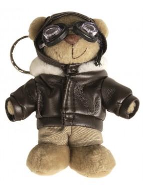 Medvedík plyšový PILOT - prívesok