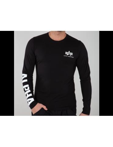 Tričko ALPHA Sleeve Print Heavy dl.rukáv