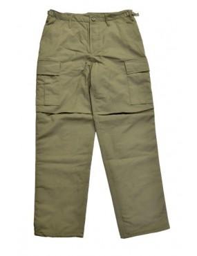 Nohavice zateplené BDU-RTX, oliv