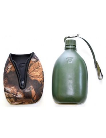 Fľaša poľná na opasok, hardwood