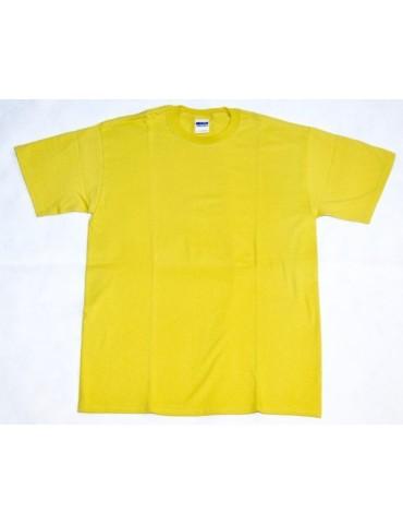 Tričko GILDAN, žlté
