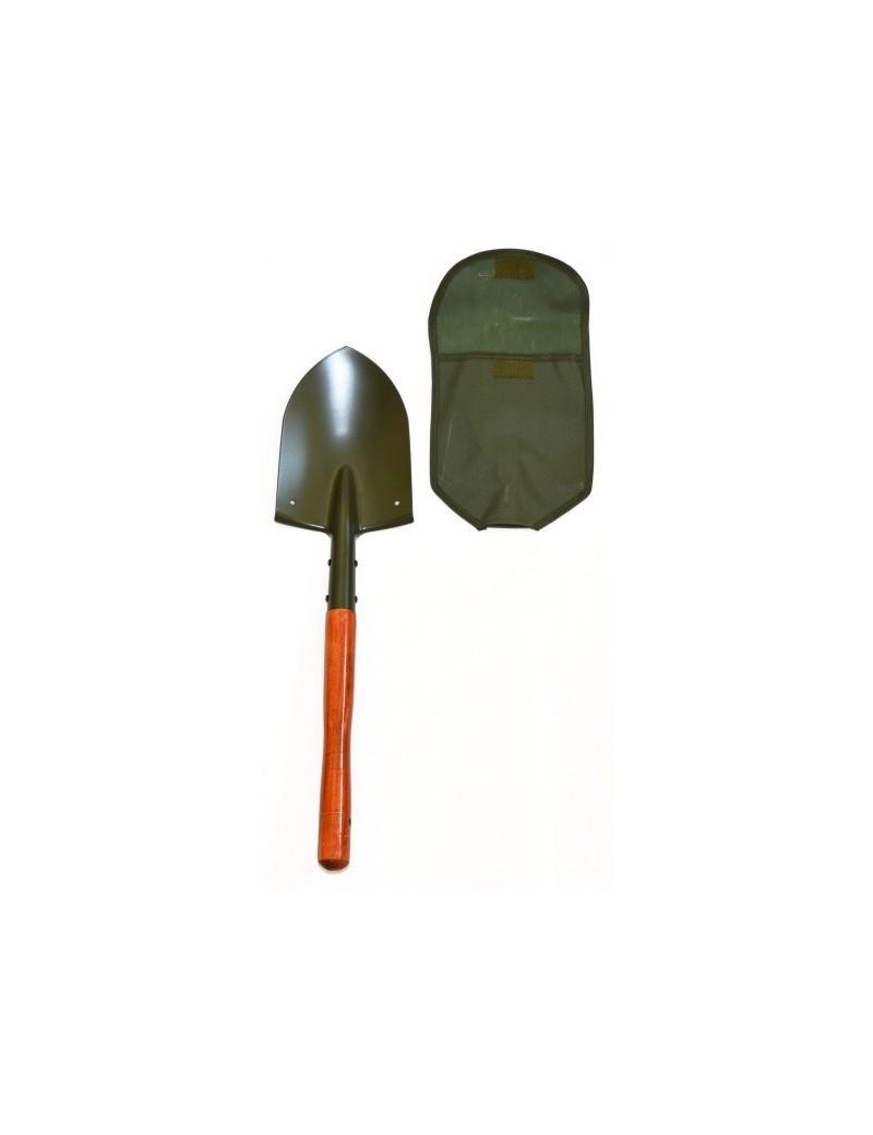 Lopatka poľná, drevená rukoväť