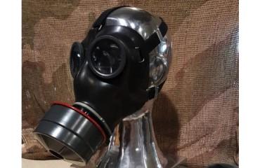 Originálna armádna plynová celotvárová ochranná maska